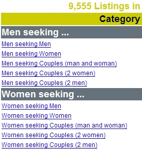 Women seeking men craigslist dc