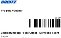 A Carbon Offset Voucher