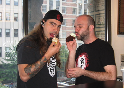 Fatty and Jason Love Cupcakes