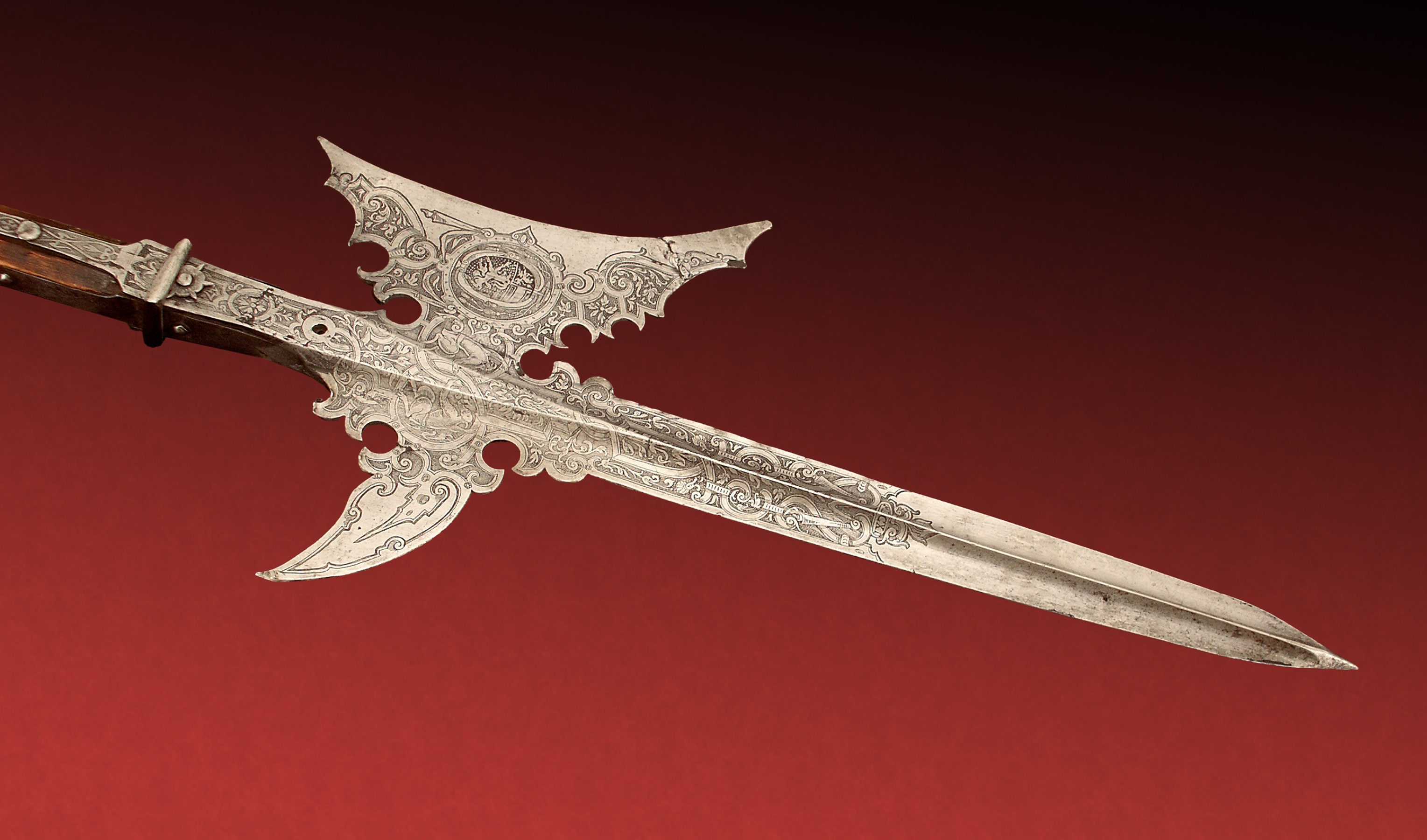 Halberd, dated 1611. Higgins Armory Museum