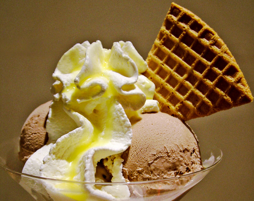 Ice Cream Desert, taken by Lotus Head (Creative Commons)
