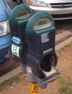 Disabled parking meters