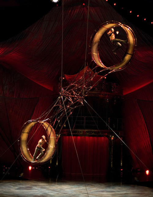 Cirque Du Soleil Wheel Of Death