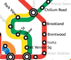 New WMATA station names