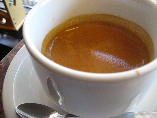 """espresso at m.e. swing coffee roasters"" by tvol, on Flickr"