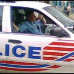 DC Cop on Cell Phone