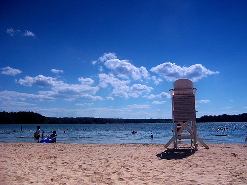 """Lake Anna Lifeguard Stand"" by needlessspaces, on Flickr"