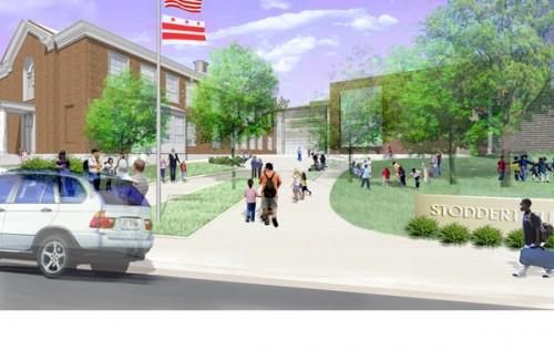 EEK schematic of proposed Stoddert entrance