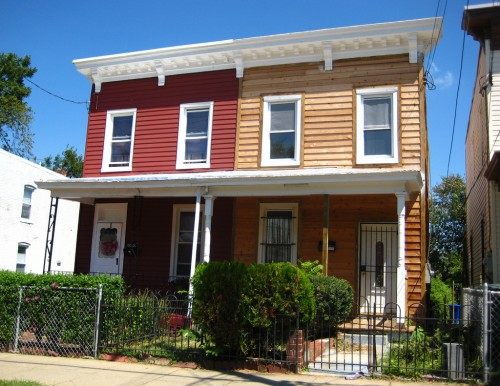 &quot;raw wood twin houses anacostia historic district&quot; by dg-rad, on Flickr