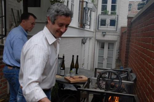 ben at grill