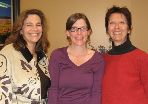 Buying-Green Gurus: Lynn Miller, Emily Wurth and Bernie Prince