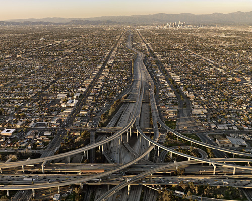 Highway #5, Los Angeles, California, USA, 2009. Chromogenic color  print. Photograph © Edward Burtynsky
