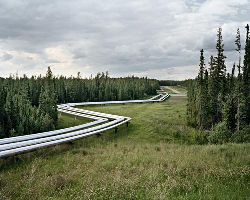Oil Fields #22, Cold Lake Production Project, Cold Lake, Alberta, Canada, 2001. Chromogenic color print. Photograph © Edward Burtynsky