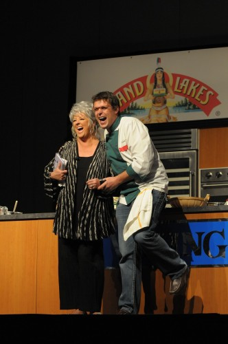 Paula Deen and Jon Ashton in LOL Theater