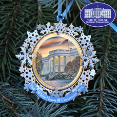 2009 Grover Cleveland White House Christmas Ornament