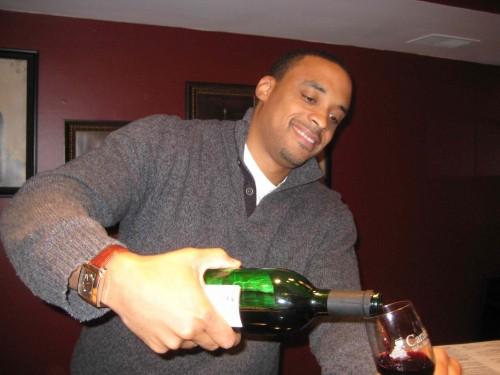 Lamar Pouring