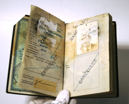 Philby Passport-Courtesy H. Keith Melton