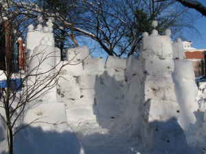 Capitol Hill Snow Fort on Craigslist