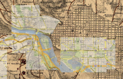 Historic Map Overlay, courtesy of Arthi