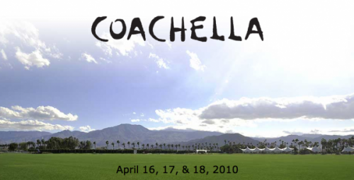 Coachella Music Festival Banner