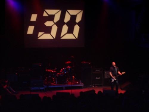 Bob Mould performing at the 9:30 Club 30th Anniversary concert