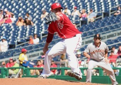 Drew Storen on the Mound