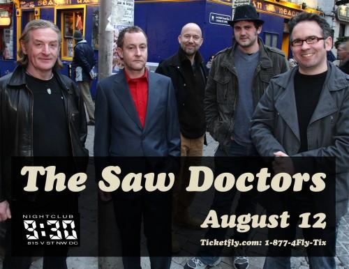 Saw Doctors @ 9:30 Club