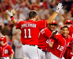 Ryan Zimmerman beats the Phillies