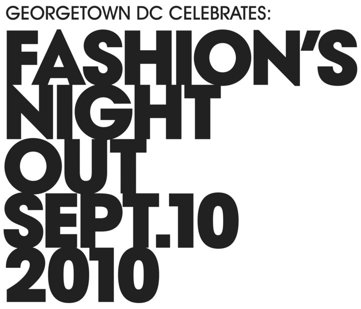 image courtesy of Fashion's Night Out Georgetown