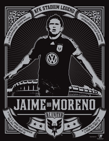 Jaime Moreno, DC Legend