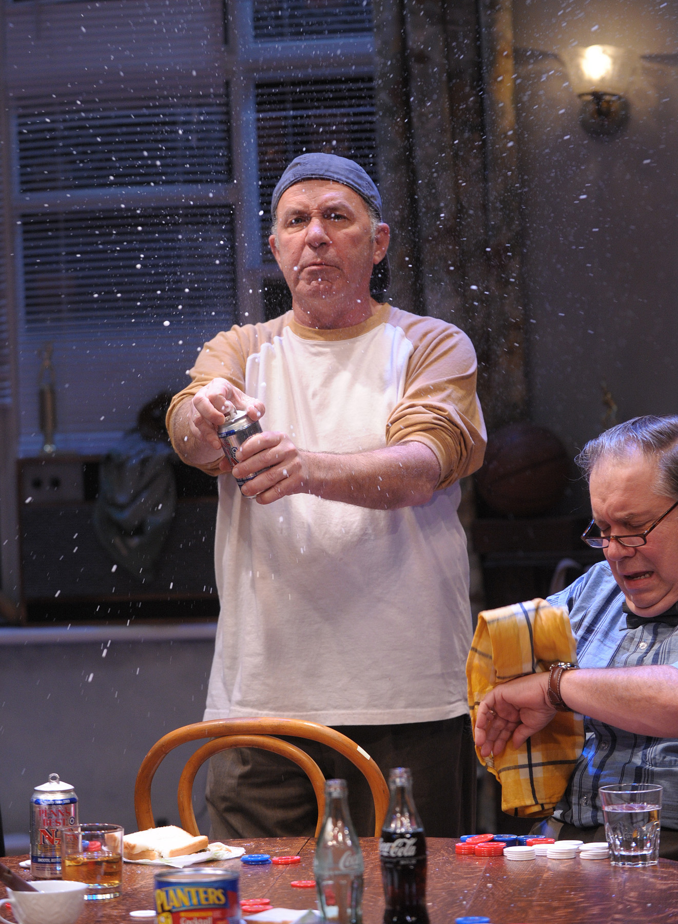 "Rick Foucheux in Theater J's ""The Odd Couple,"" courtesy of Theater J."