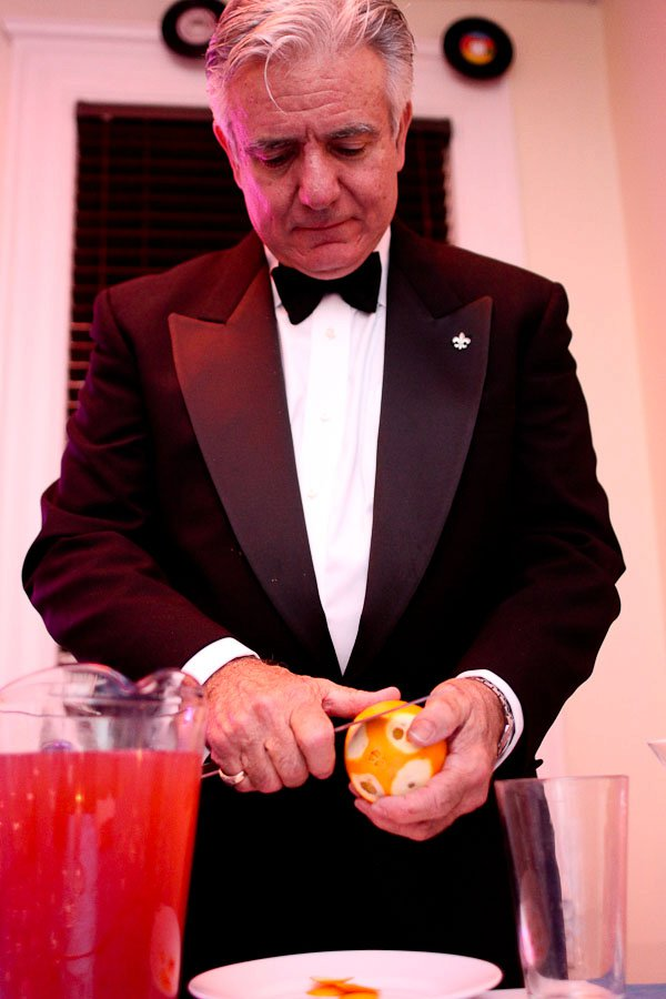 Dale DeGroff restores the Cosmopolitan. Photo credit: Elba Giron. Courtesy of the DC Craft Bartenders Guild.