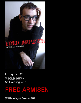 Black Promo for Fred Armisen