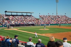 Nationals vs Yankees at Space Coast Stadium
