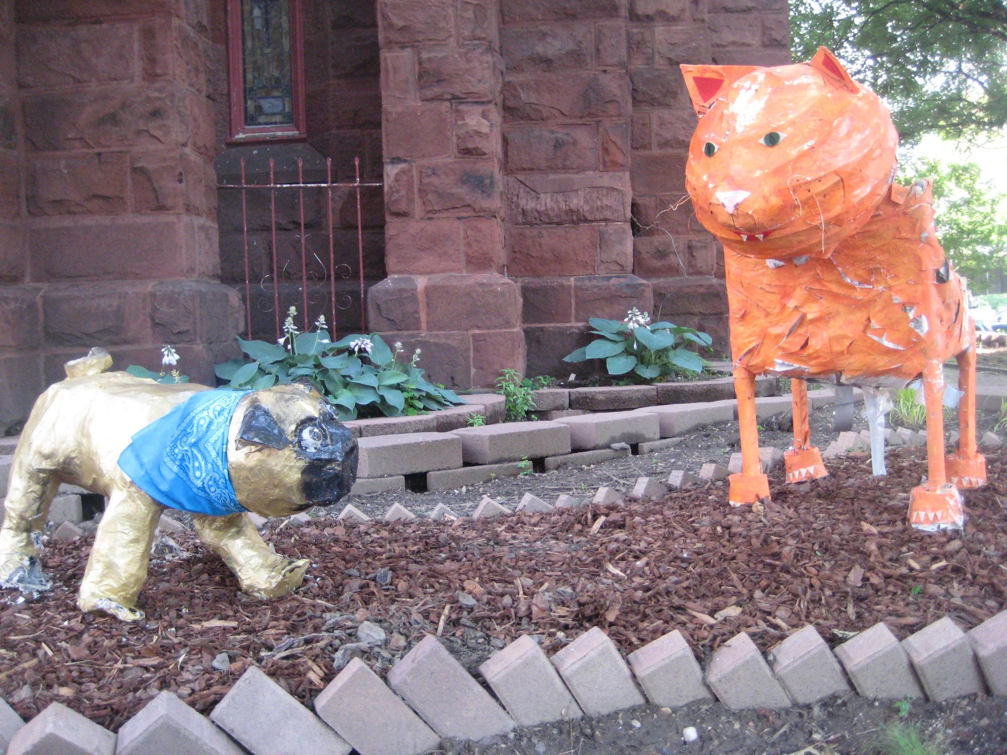 Pug vs. Tiger