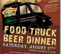 Food Truck Beer Dinner at Das Bullpen, 8/27 for $75