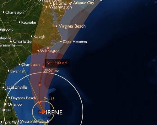 Irene's Coming