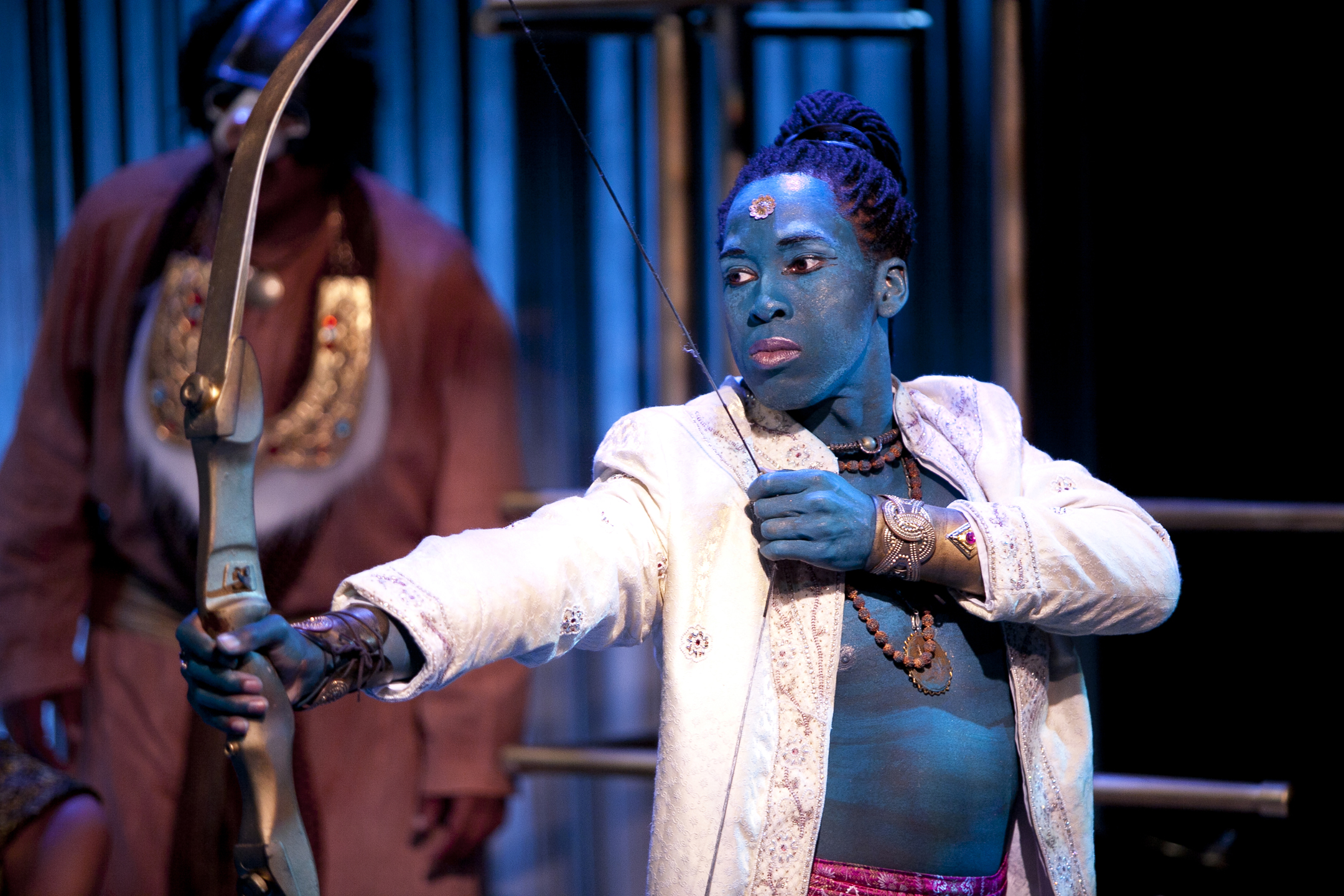 Andreu Honeycutt as Lord Rama in Constellation Theatre Company's 2011 remount of The Ramayana. Photo credit: Scott Suchman.