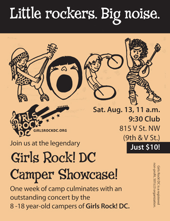 Girls Rock! DC showcase 2011