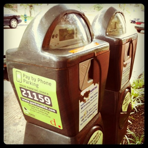 Parking Meters with Parkmobile
