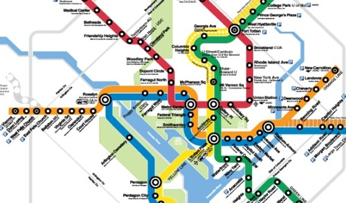Talkin\' Transit: Metro\'s New Map, and a Survey | We Love DC