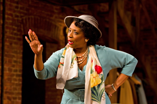 E. Faye Butler as Wiletta Mayer in the Arena Stage at the Mead Center for American Theater production of Trouble in Mind. Photo by Richard Anderson.