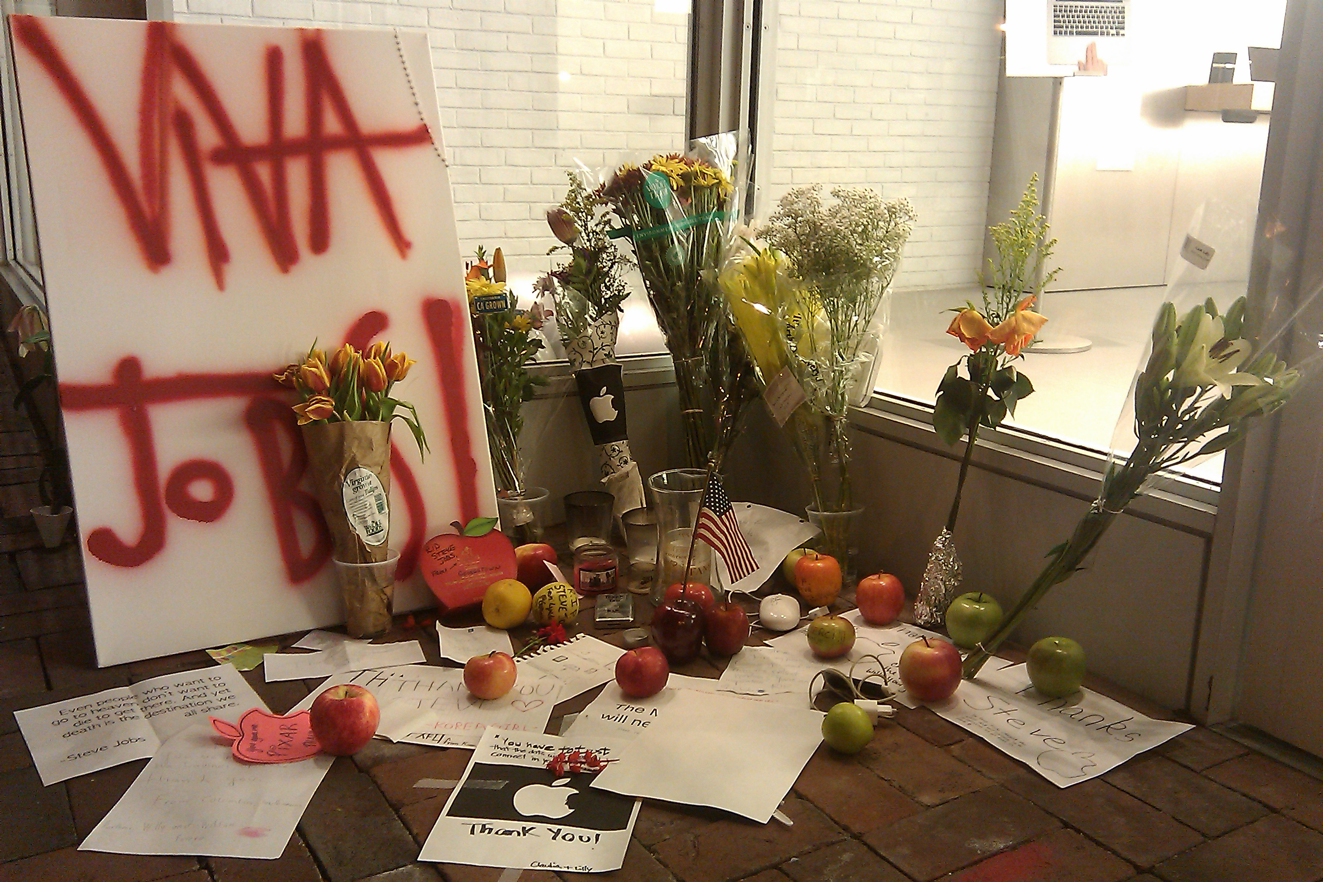 Georgetown Apple Store Memorial
