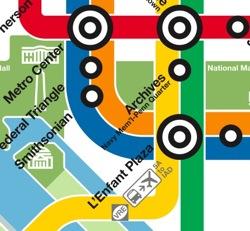 Metro Map excerpt