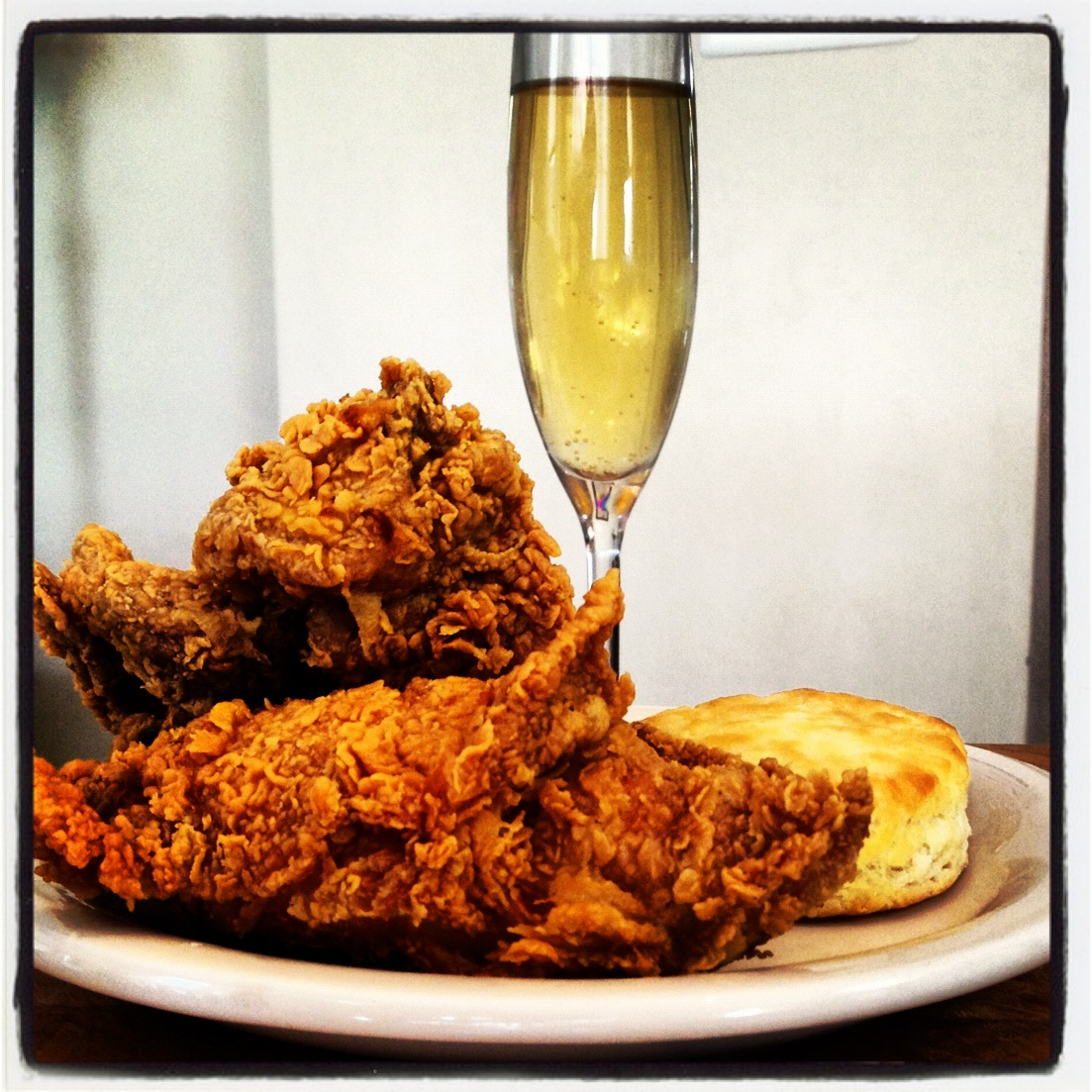 Cork's Fried Chicken and Champagne