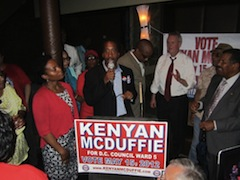 Kenyan McDuffie, Ward 5 Councilmember-elect