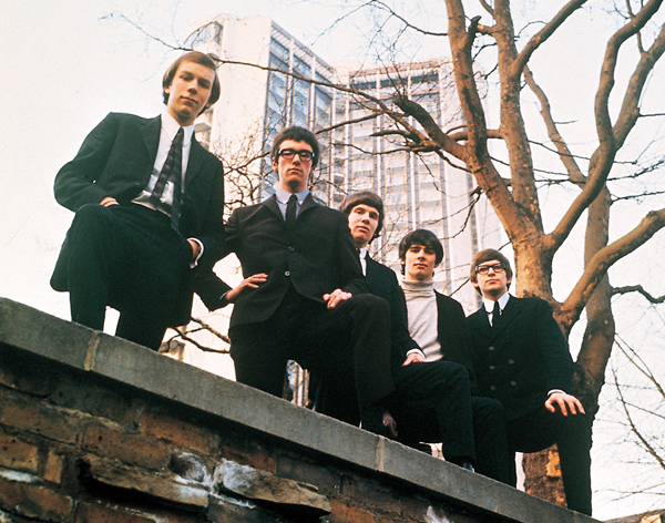 The Zombies in the 1960s (Photo courtesy The Zombies)
