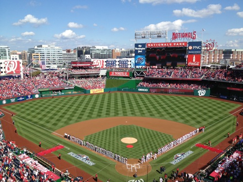 Nats Park for the Playoffs
