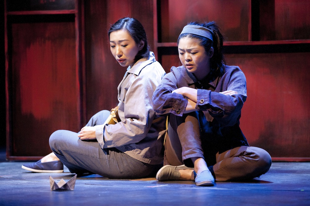 You For Me For You / (left to right) Jo Mei, Ruibo Qian (photo by Scott Suchman)