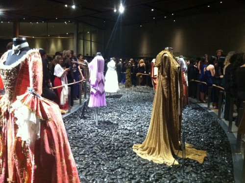 Arena ball gowns